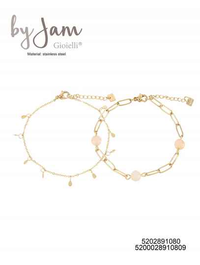 By Jam Gioielli | Armband - Double pink