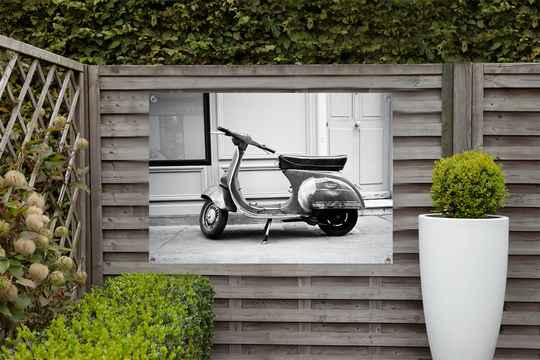 Tuinposter Scooter