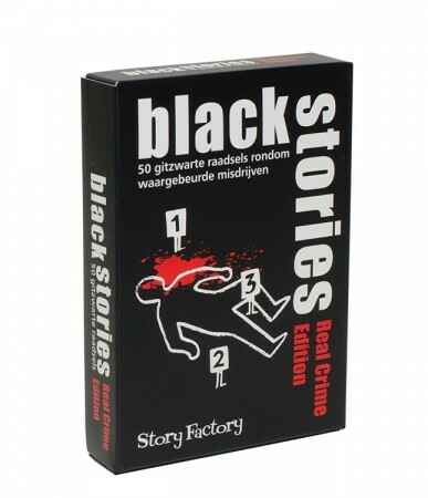 Black Stories - Real crime edition ( Tucker's Fun Factory) 12+