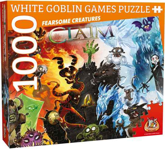 Claim - Fearsome creatures /1000pcs WGG2071 (White Goblin Games)