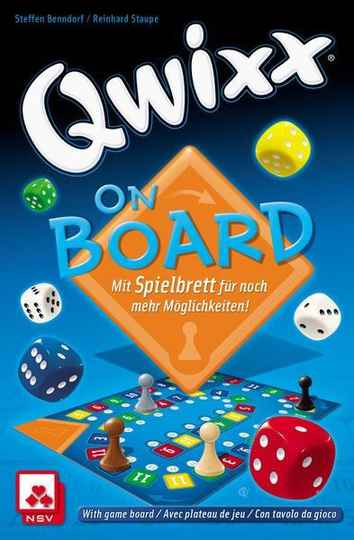 Qwixx - On board WGG2008 (White Goblin Games) 8+