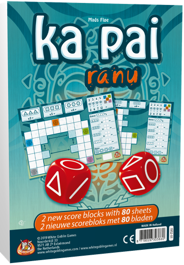 Ka Pai - Ranu: Navulblok Level 1 WGG1952 (White Goblin Games) 8+