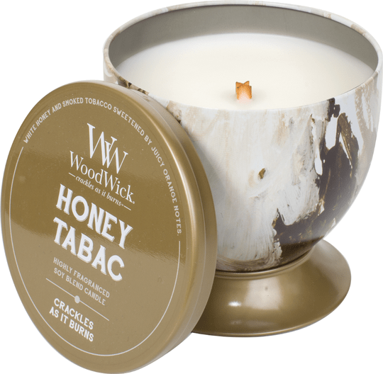 WoodWick Tin - Honey Tabac