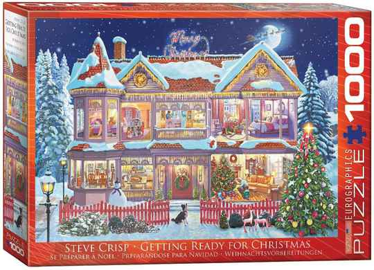 Getting ready for Christmas 1000pcs 6000-0973 (Eurographics) 10+