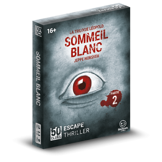 *PRE ORDER* 50 Clues - 2: Sommeil blanc (Norsker Games) 16+