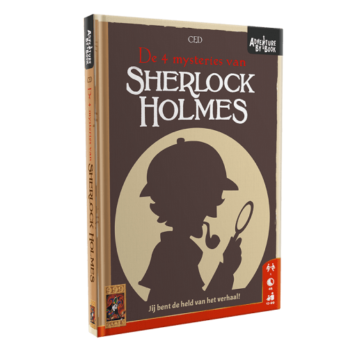 Adventure By Book - Sherlock Holmes 999-ABB02 (999 Games) 12+