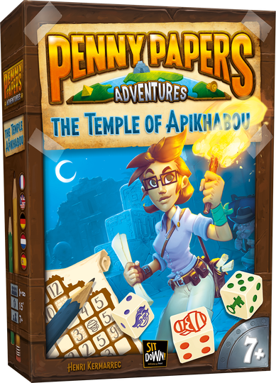 Penny papers - The temple of Apikhabou (Sit Down) 7+