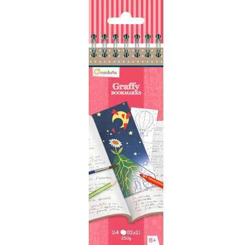 Graffy Bookmarkers - Poesie GY036 (Avenue Mandarine)