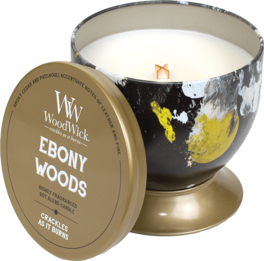 WoodWick Tin - Ebony Woods