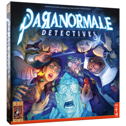 Paranormale detectives 999-PRN01 (999 Games) 12+