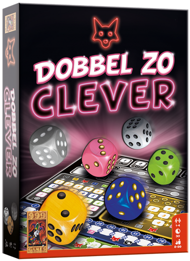 Dobbel zo Clever 999-CLE03 (999 Games) 8+