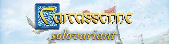 Carcassonne - Uitbr.: Solovariant (999 Games) 7+