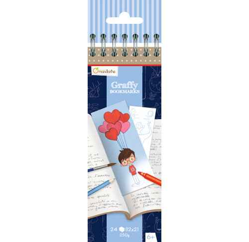 Graffy Bookmarkers - Vader GY033 (Avenue Mandarine)