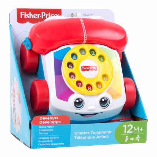 Chatter telefoon FGW66 (Fisher Price) 1+