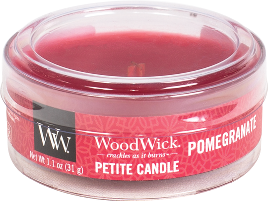 WoodWick Petit Candle - Pomegranate