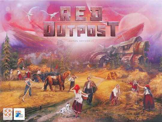 Red Outpost - Deluxe editie NL (Happy Meeple Games) 10+