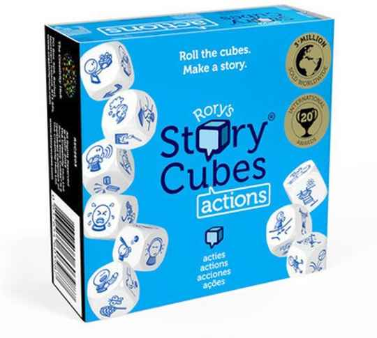 Rory's Story Cubes - Actions *Blauw* (Zygomatic)