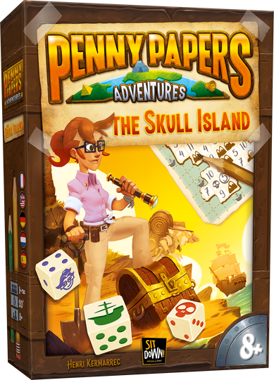Penny Papers - The skull island (Sit Down) 8+