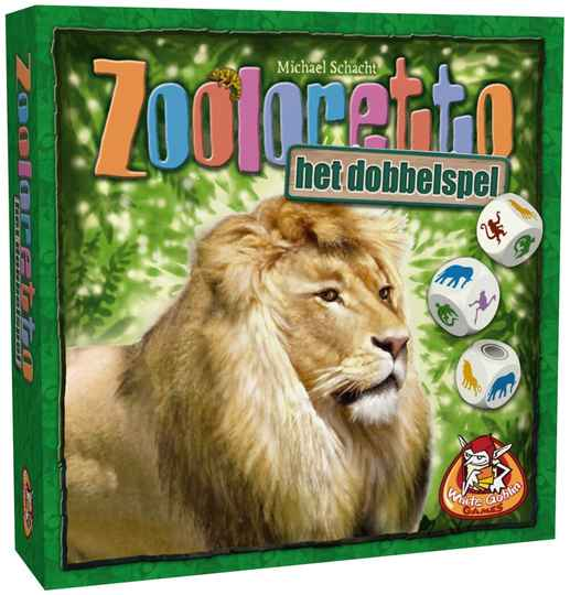 Zooloretto - Het dobbelspel NL WGG2026 (White Goblin Games) 7+