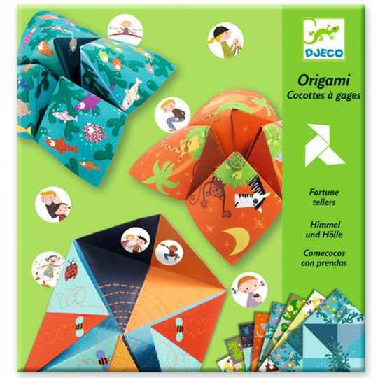 Origami - Cocottes à gages: Animaux DJ08764 (Djeco) 4+