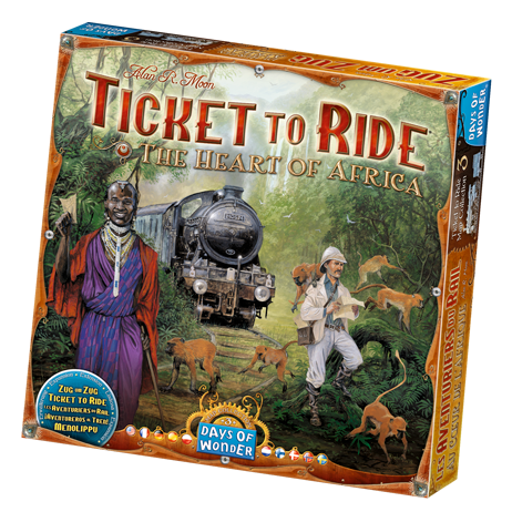 Ticket To Ride - Map 3: Heart of Africa (Days Of Wonder) NL/FR 8+