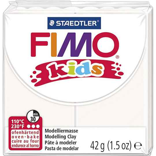 Fimo Kids - 0:wit, 42gr 78520 (Creotime)