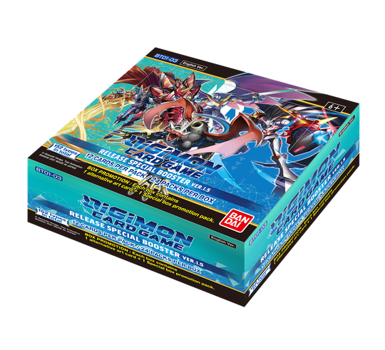 Digimon - Release special booster ver1.5 (BT01-03)