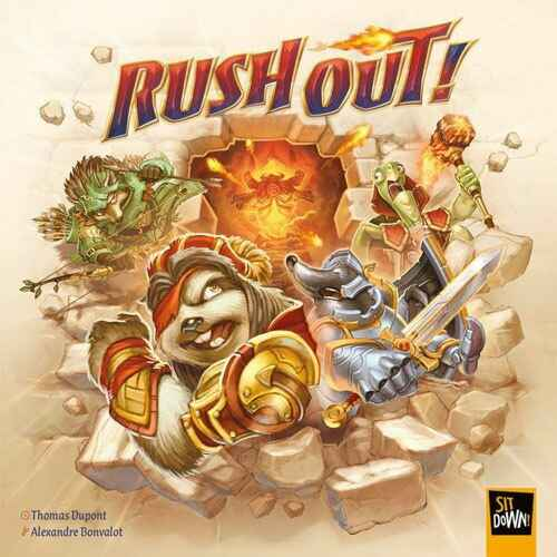 Rush Out! NL/FR (Sit Down Games) 8+