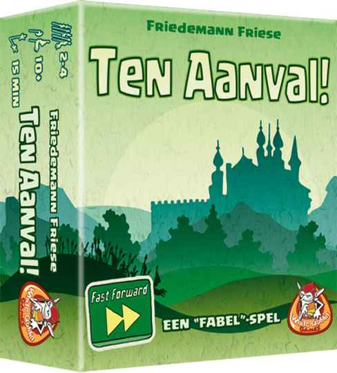 Ten aanval! (Fast Forward) WGG1736 (White Goblin Games) 10+