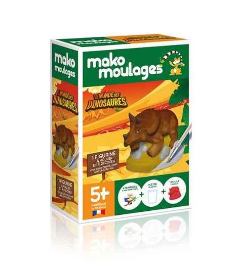 Triceratops 39050 (Mako Moulages) 5+