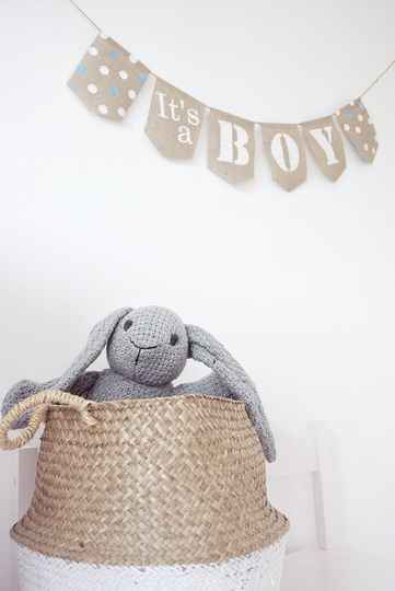 ❦ Jute slinger It's a Boy / Girl