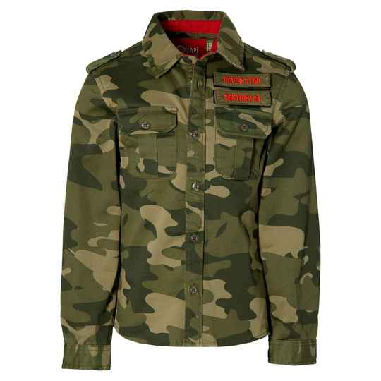 Quapi - Blouse Fender Olive Green Army
