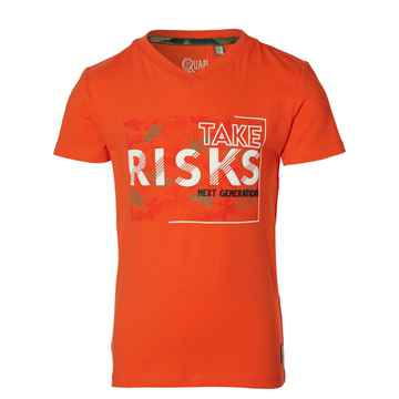 Quapi - Shirt Faas Orange Red