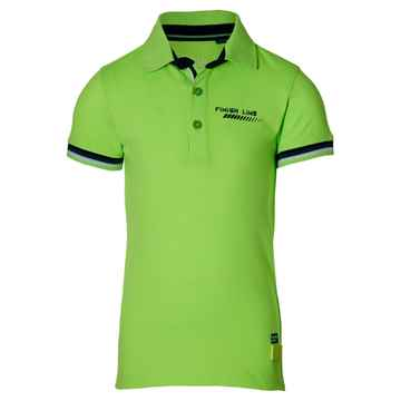 Quapi - Polo Filip Neon Green