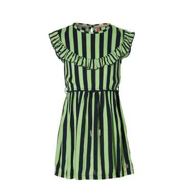 Quapi - Jurk Faitlin Dark Blue Stripe