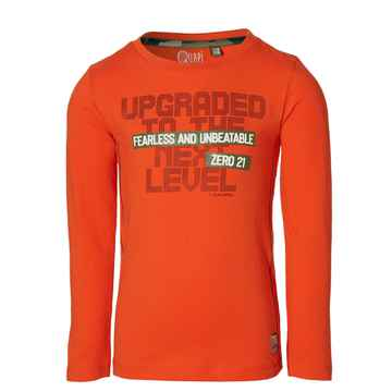 Quapi - Longsleeve Fedde Orange Red