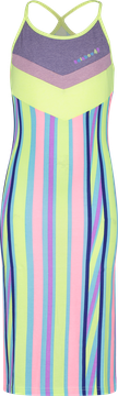 4President - Jurk Madelaine Multicolor Stripes