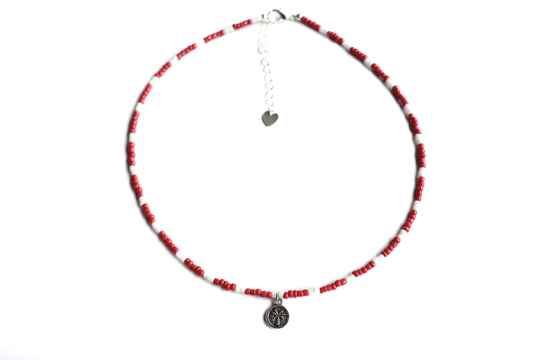 Choker - Indy  (Duo rood)