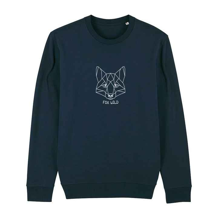 "Sweater navy ""FOX WILD"""