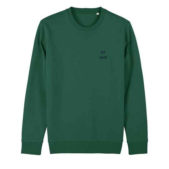 """Sweater groen """"FIT CHICK"""""""