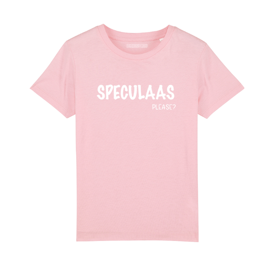 Kids T-shirt 'Speculaas please?'