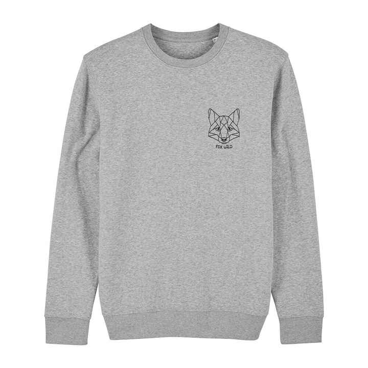 "Sweater grijs ""FOX WILD"""