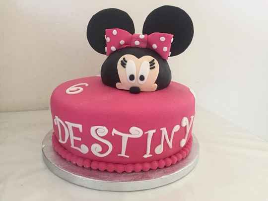 Luxe Mickey mouse taart