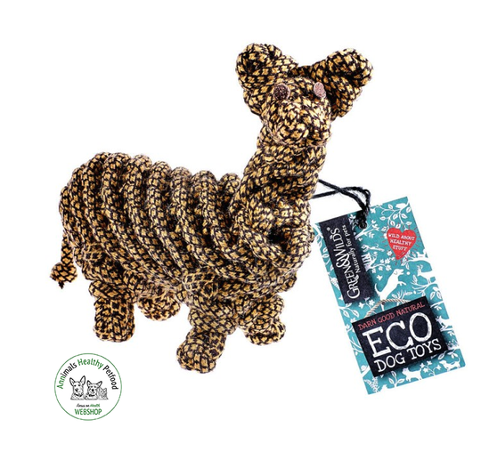 Lionel the Llama - Eco Dog Toy