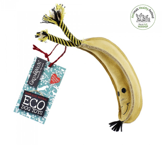 Barry the Banana - Eco Dog Toy