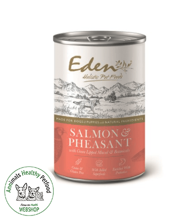 EDEN Dog Wet Gourmet Salmon & Pheasant - 400g