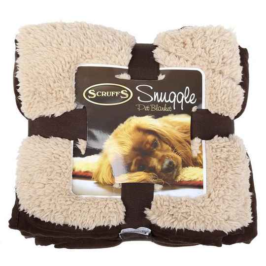 Scruffs Snuggle Blanket Chocolate