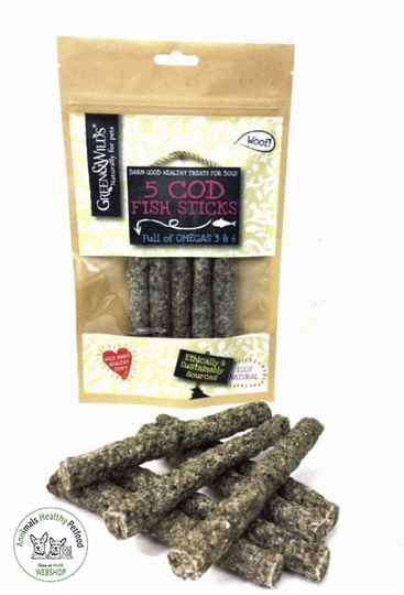 GREEN & WILDS - Cod FISH STICKS - 100g