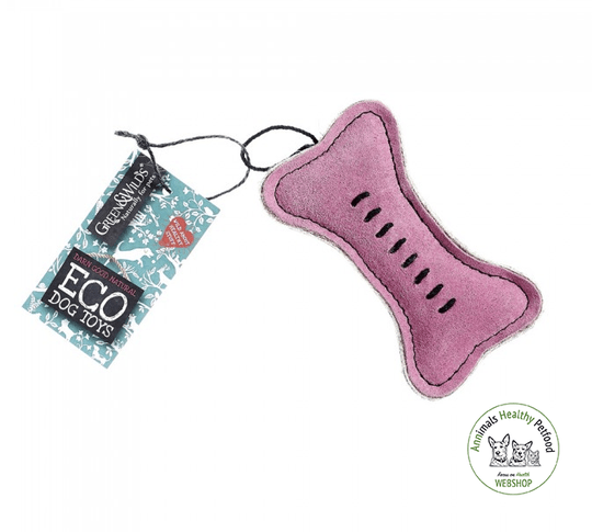 Pinkie Bone - Eco Dog Toy