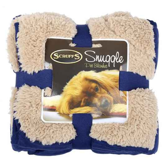 Scruffs Snuggle Blanket Navy Blue